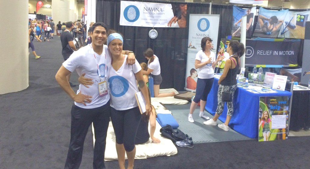 world fitness expo conference booth