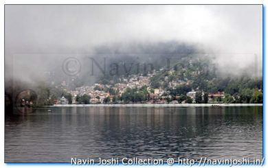 Nainital on a Foggy Day