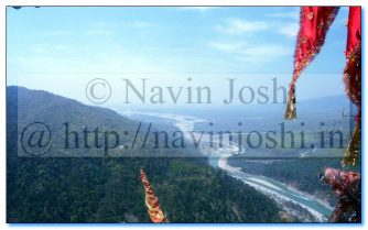 Bird Eye View from Purnagiri Temple