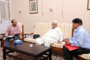 राज्यपाल अजीज़ कुरैशी साहब के साथ
