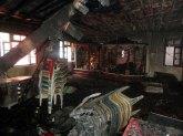 सेवा समिति भवन में 14 सितंबर 2013 को लगी आग