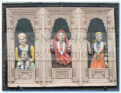 Mural Wall Art-Uttarakhandi Ladies, Nainital