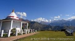 Panchachuli with Nanda Devi Temple1