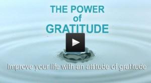 The Power of Gratitude course