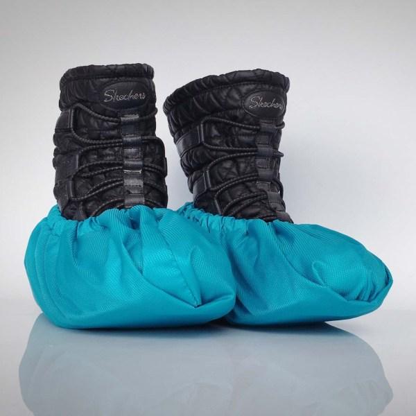 návleky na topánky / tyrkysové