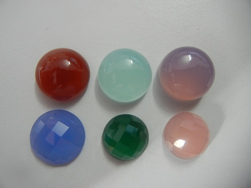 Buy Loose Faceted And Cabochon Chalcedony Gemstones