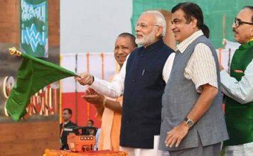 वाराणसी : पीएम ने रामनगर-हल्दिया जलमार्ग का किया उद्घाटन