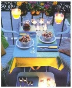 Стильный праздничный стол