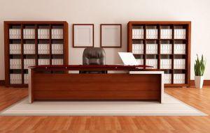Опрятная офисная мебель