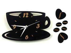 интересные часы на кухню в виде чашки