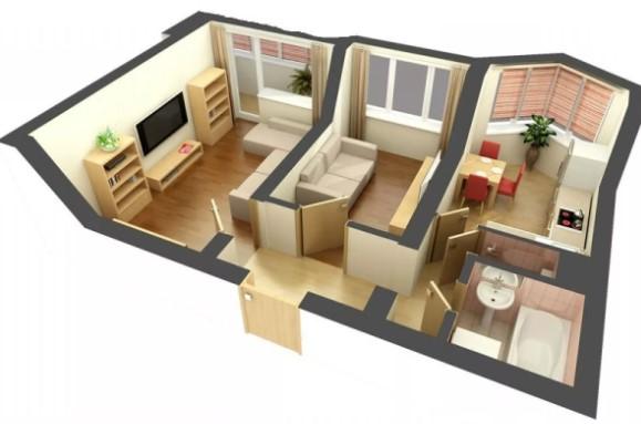 двухкомнатные квартиры от жк Яскравый
