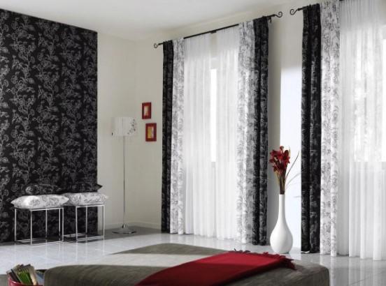 шторы и тюль. Фото