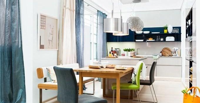 Выбираем модные гардины и шторы для современной гостиной