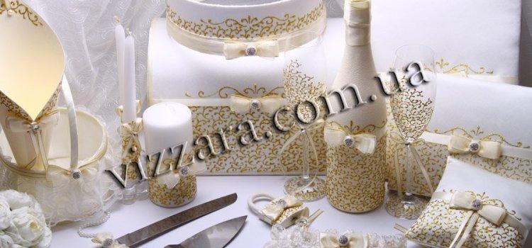 Свадебные украшения – сделать самому или выбрать готовый вариант?