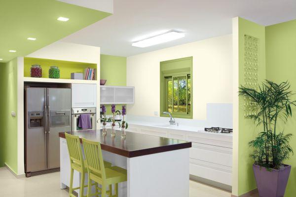 небольшой кухни с кухонным островом