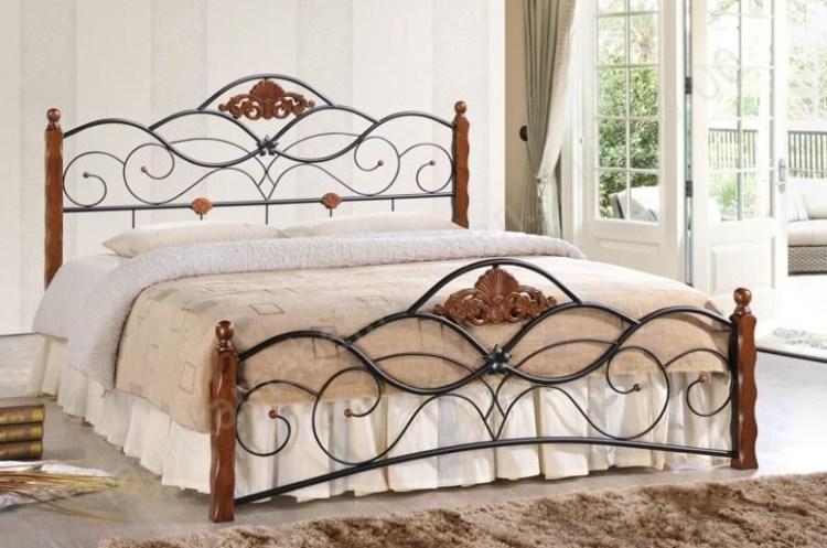 Кровать CANZONA белый 120х200