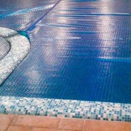 Тенты для бассейна — основные типы