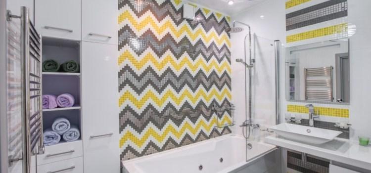 Мозаика — эффективный способ отделки ванной комнаты