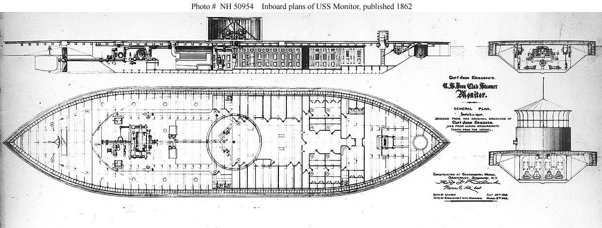 monitor versus merrimack diagram dodge durango trailer wiring uss today battleship photo index thresher