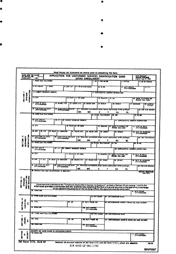 Application 1172 Form 2 Dd