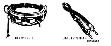SAFETY BELTS AND STRAPS