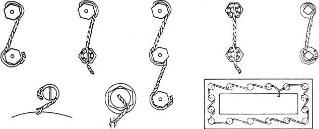 Safety wiring methods