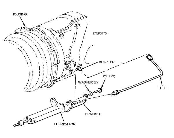 Figure 6-7.Lubricator assembly installation (F-14)