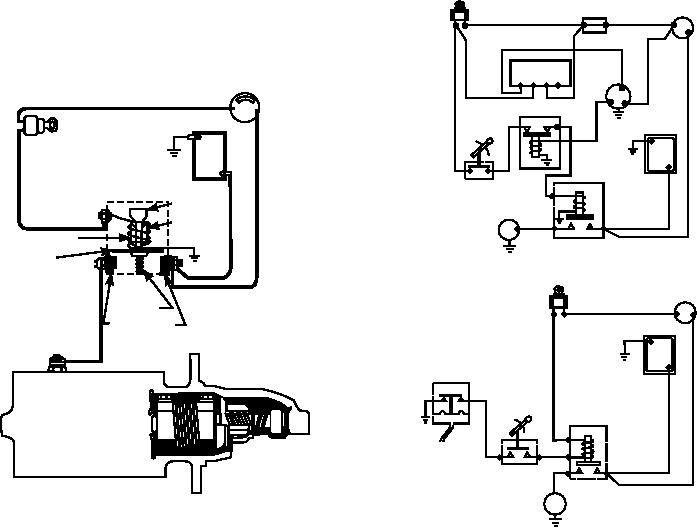 Figure 6-70.--Control system for a starter with a Bendix drive