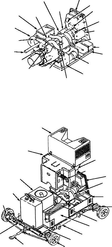 Figure 12-24.--Model A/M47A-4 compressor power unit.