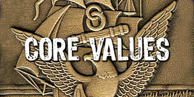 navy core values