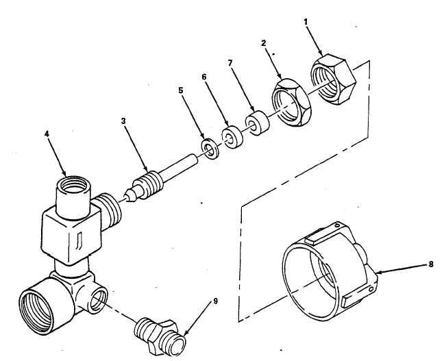 Figure 5-9. Air Supply Valve, Repair
