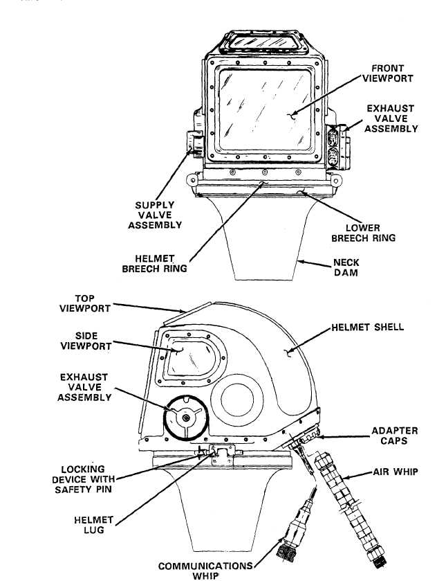 Figure 1-4. MK12 Helmet Assembly.