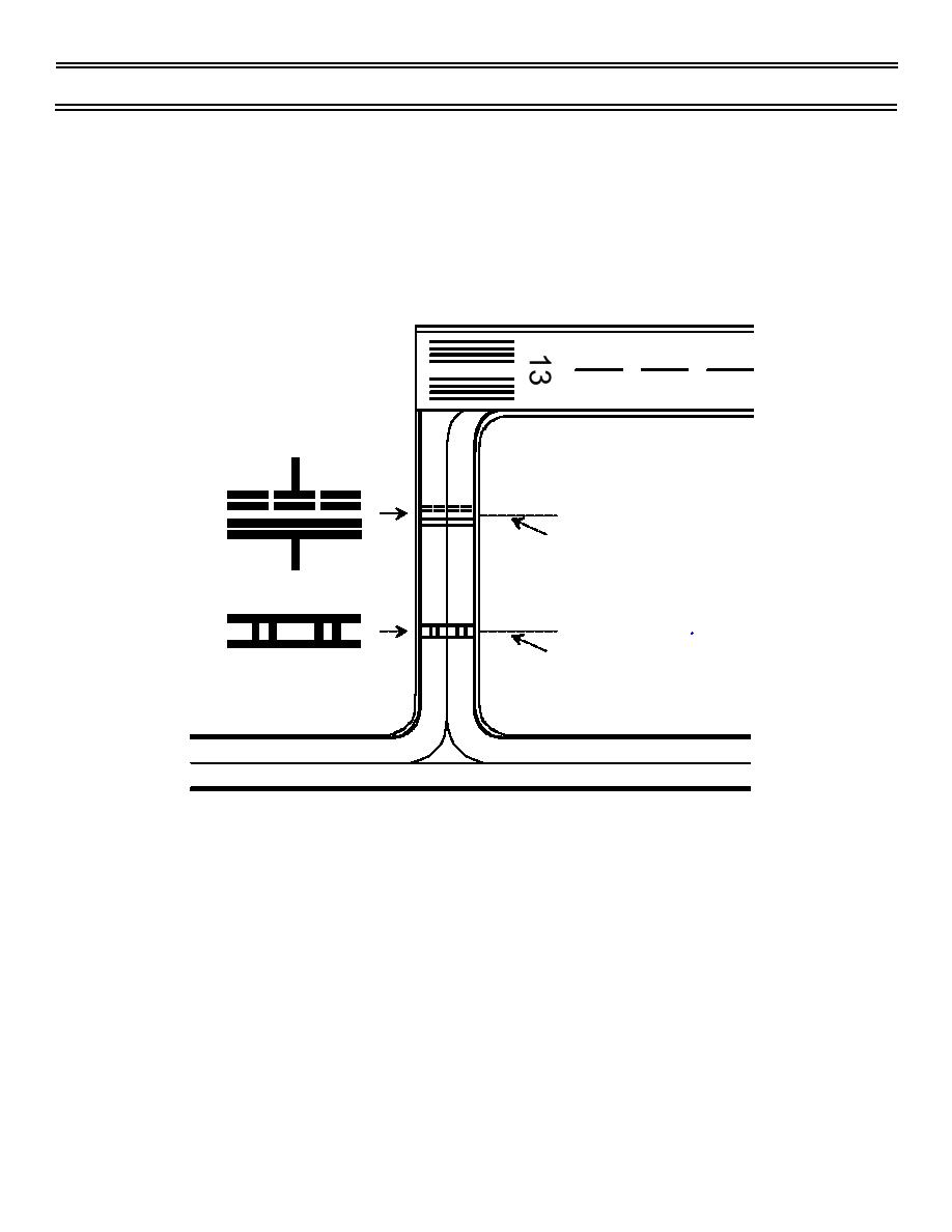 Figure 8. ILS Critical Area Taxiway Position Markings
