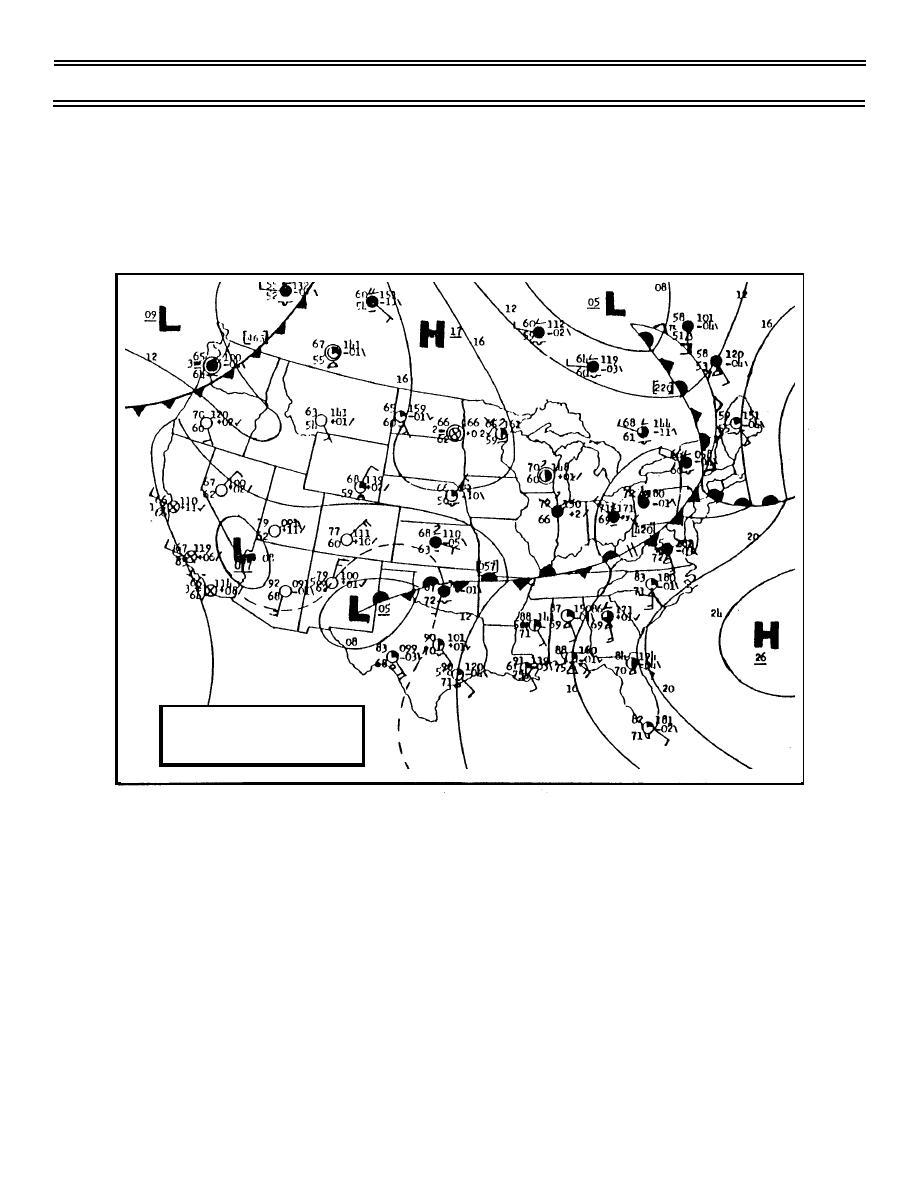 Figure 2. Surface Analysis Chart