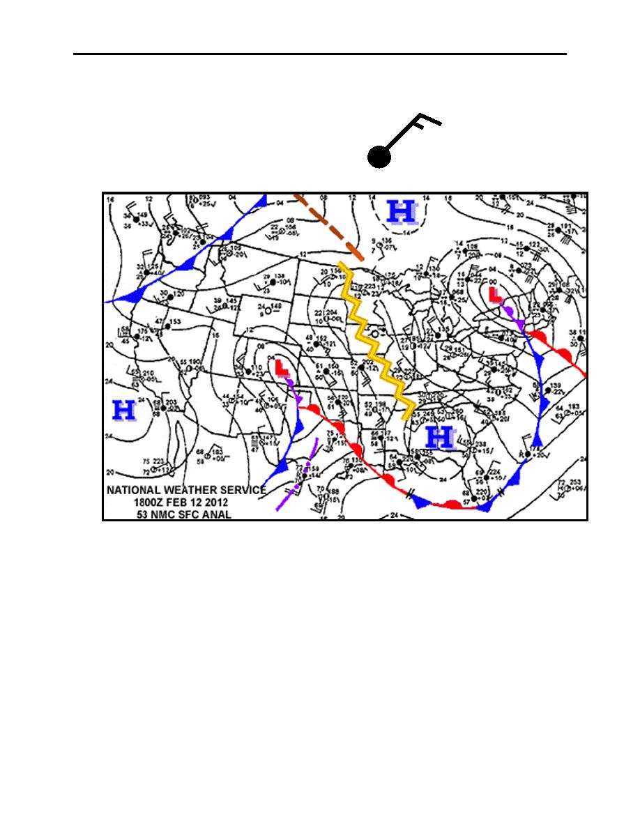 Figure 2-23. Surface Analysis Chart for Questions 6-9