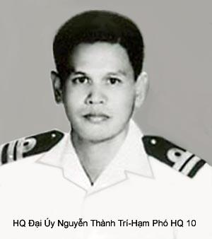 HQ Dai uy Nguyen Thanh Tri, Ham Phó HQ10  da Vi Quoc Vong Than  trong luc dao thoat bang be