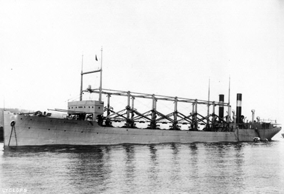 The Unanswered Loss Of Uss Cyclops  March 1918  Naval