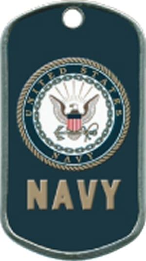 US Navy Custom Artwork Military Dogtag
