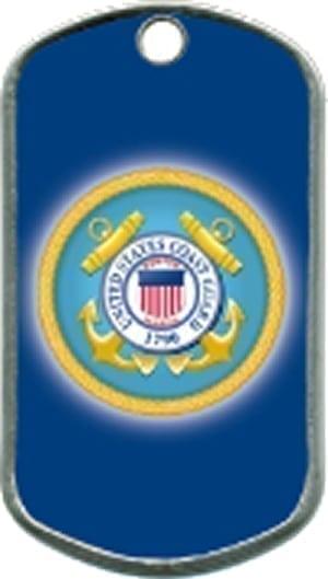 US Coast Guard Custom Military Dogtag