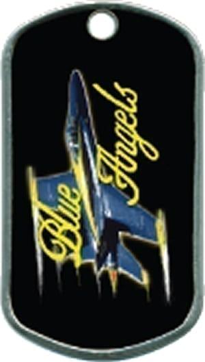 Blue Angels Custom Military Dogtag