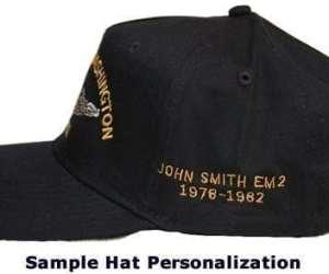 DDG 32 USS John Paul Jones Embroidered Hat