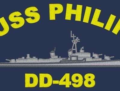 DD 498 USS Philip Polo Shirt