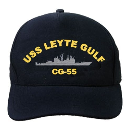 CG 55 USS Leyte Gulf Embroidered Hat