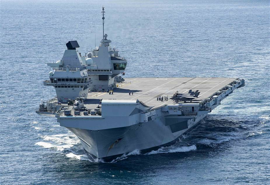 British Navy aircraft carrier HMS Queen Elizabeth one step closer to being able for deployment
