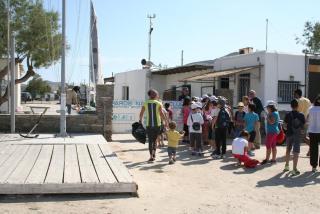 Επίσκεψη σχολείου στην Πάρο
