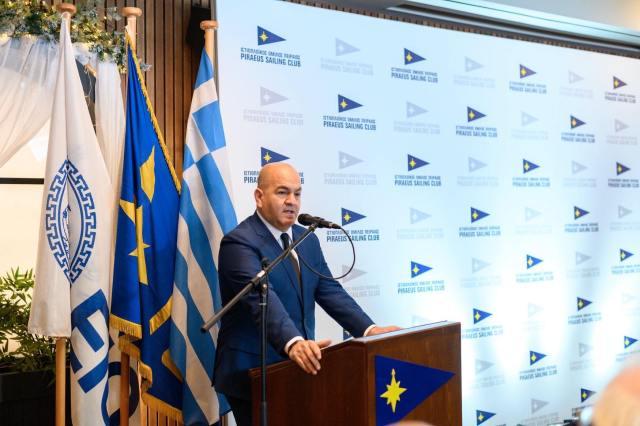Ο Γιάννης Παπαδημητρίου επανεξελέγη Πρόεδρος του  Ιστιοπλοϊκού  Ομίλου Πειραιά