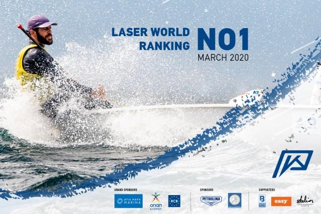Στο Νο1 του κόσμου στην κατάταξη των Laser επανήλθε ο Κύπριος Ολυμπιονίκης Παύλος Κοντίδης