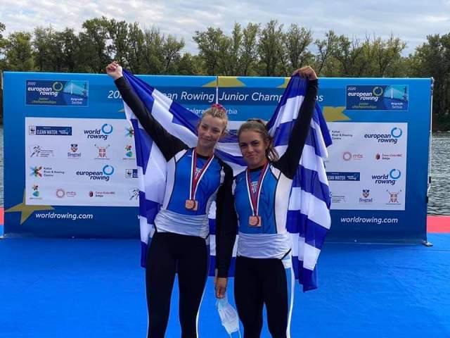 Ν.Ο.Γιαννιτσών: «Χάλκινη Πρωταθλήτρια Ευρώπης η Ευαγγελία Φράγκου»