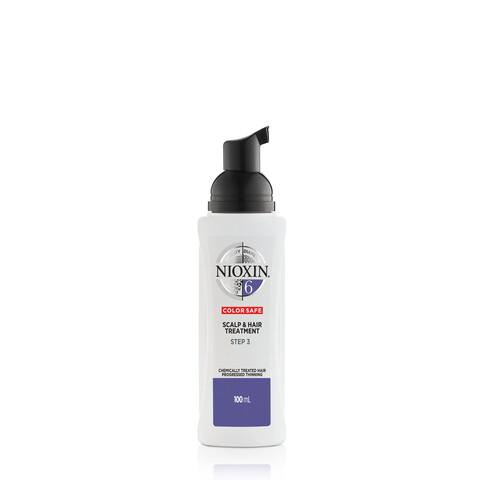 Nioxin System 6 Scalp & Hair Treatment Chemically Treated Hair