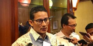 Wakil Gubernur (Wagub) DKI Jakarta Sandiaga Salahuddin Uno